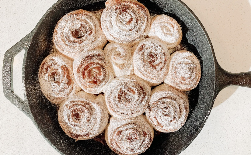 Sourdough Cinnamon Scrolls
